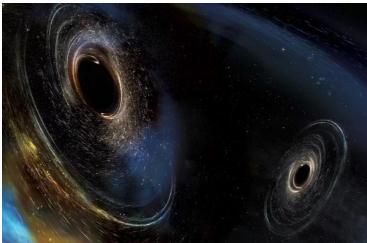 通过分析高新激光干涉仪引力波天文台发现迄今最大的黑洞合并事件