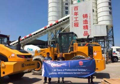 柳工新一批设备交付雅万高铁项目部,持续助力印尼