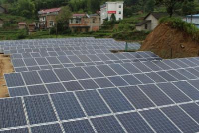 陕能榆阳50MW光伏电站项目成功并网发电