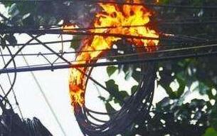 沧州中铁装备公司因架空电缆着火导致停电,电缆着火原因正在调查