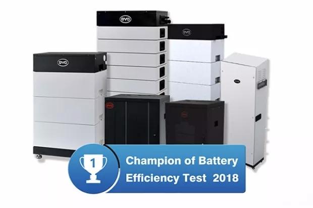 """比亚迪研发电池储能系统被柏林工业大学评为""""系统综合性能最优""""的储能产品"""