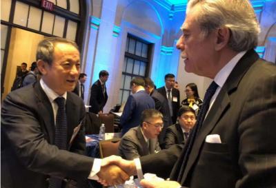 徐工王民董事长出席第十一轮中美工商领袖和前高官对话