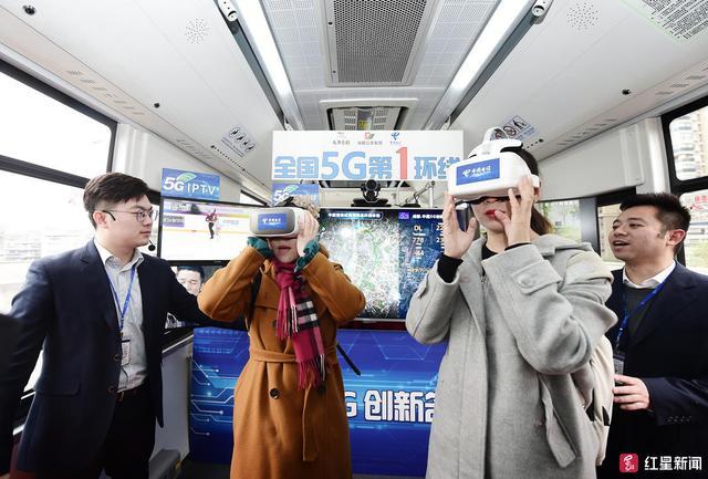 全国首辆5G公交开通试运行,体验:5G网络实时速率达2G