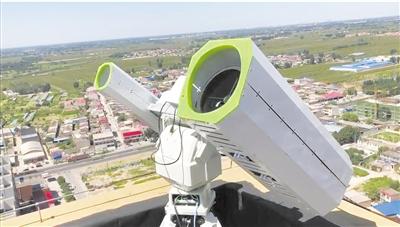 激光遥感新利器构建激光遥感在线扫描监测网
