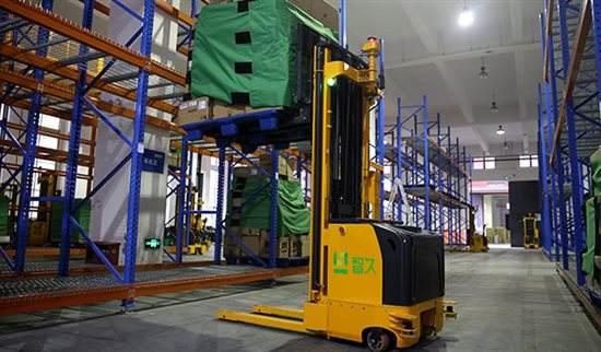 智久机器人宣布完成1亿A轮融资 无人叉车以租赁切入市场