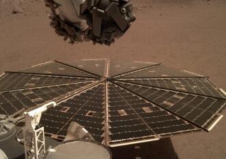 """""""洞察号""""火星探测车捕获到首个火星表面自然环境声音"""