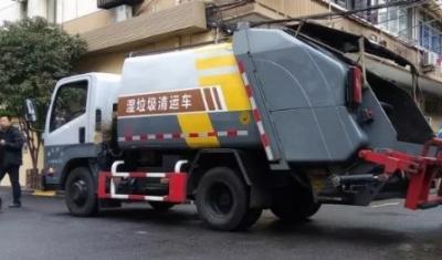 上海垃圾分类专用车、垃圾分类箱房和投放点已完成规范化改造