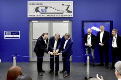 大众汽车模具制造部门新增先进3D打印中心 扩大零部件生产能力