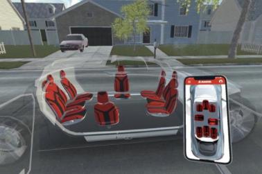 麦格纳推出座椅生态系统概念 打造灵活汽车内饰的愿景