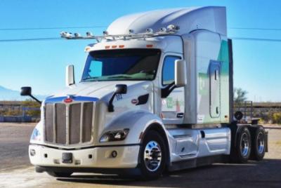 图森未来无人驾驶卡车试驾如同真人驾驶 雷达测距高达1公里