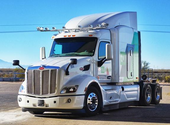 图森未来演示自动驾驶卡车,配置摄像头测距高达1000米