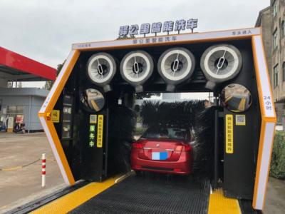 驿公里智能洗车重塑无人洗车行业 塑造完美环保样板