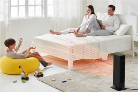 网易智造PTC智能暖风机:全新智能控温系统,家庭制暖安全之选