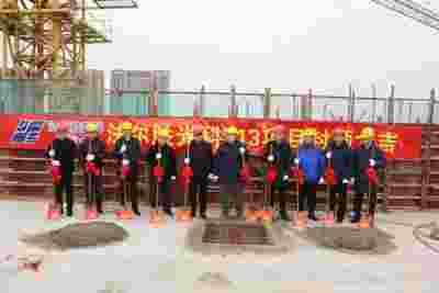 法尔胜光科年产5000万公里光纤项目一期工程封顶