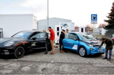 宝马和保时捷合作推450千瓦充电站 3分钟恢复100公里续航里程