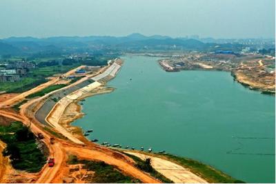邕宁水利首台水轮发电机组完成试运行及并网发电