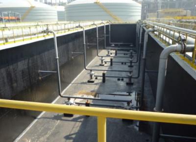 上海石化开建生物流化床处理PTA污水试验项目