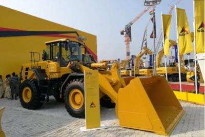 山东临工2018印度宝马展首次推出新款L958F轮式装载机