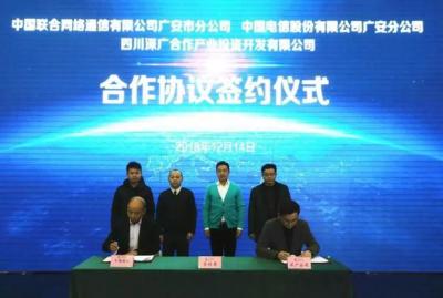 深广公司与中国联通及中国电信达成合作,打造园区信息服务高地