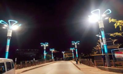 华体照明子公司中标丽江1.2亿元路灯提升工程