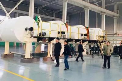 东方纸业首条生活用纸生产线(PM8)正式投产