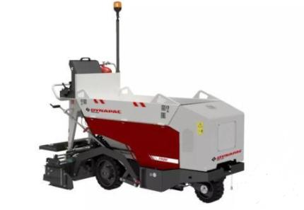 戴纳派克推出迷你多功能摊铺解决方案——F80W小型轮式摊铺机