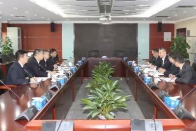 """三一集团与中国电建战略会谈 共建""""一带一路""""中国品牌"""