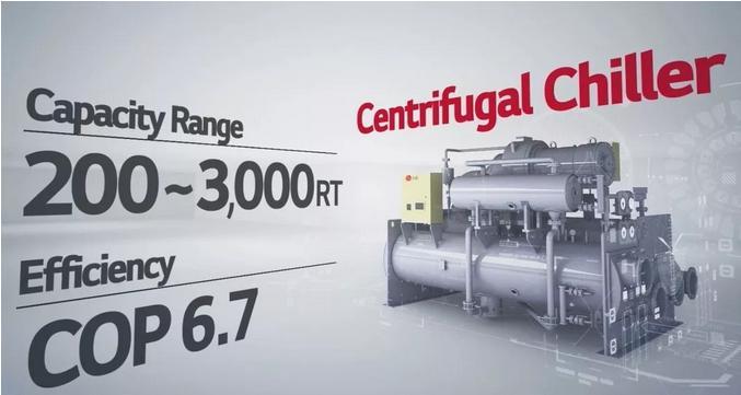 LG大冷量离心机服务粤芯半导体12英寸芯片厂
