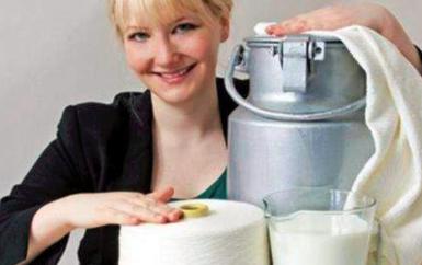 过期牛奶能纺纱制衣?像丝绸还润肤, 一件卖到千元