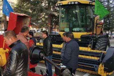 纽荷兰牧草收获全程机械化设备推介会圆满举办