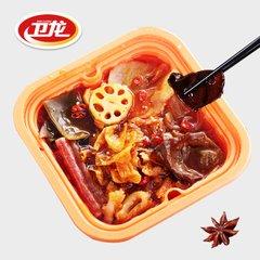 卫龙辣条火锅惊现虫子尸体 客服回应只是火锅的香料