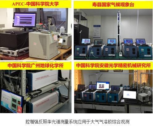 宽波段腔增强反照率光谱系统实现气溶胶光谱测量