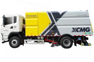 再添新成员!徐工环境8吨纯电动扫路车等3款车型下线