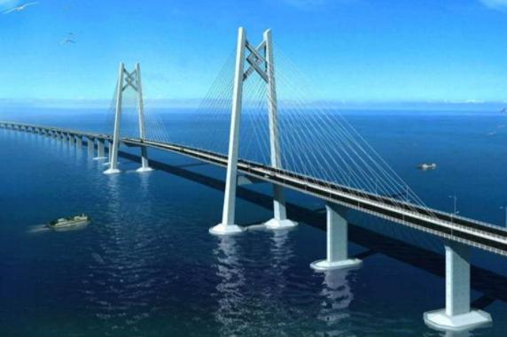 跨海大桥长好几公里, 他们都是如何建造的? 总算解惑了
