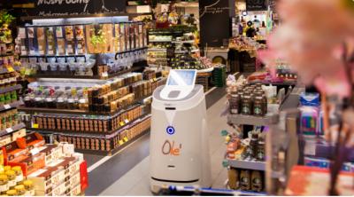 ?全自主零售机器人方案提供商越凡创新完成数千万元A轮融资