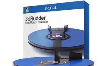 3D Rudder公司打造的新版足部控制器亮相2019 CES引关注
