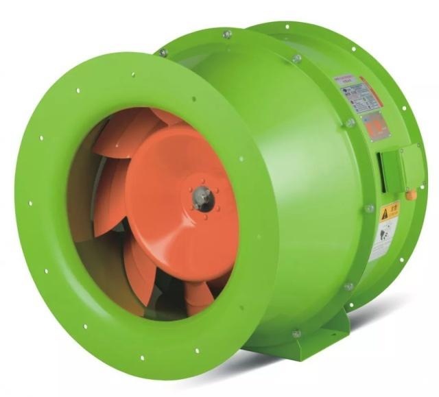 华大电机CRF系列斜流风机:填补轴流风机和离心风机的技术及产品空白