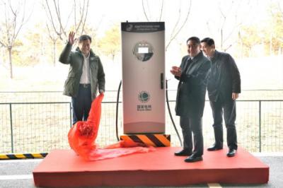 国内最大输出功率充电示范站落户北京 充电时长缩短2/3