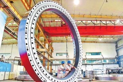 洛轴携手中铁隧道局造出11米级大直径盾构机主轴承 打破垄断