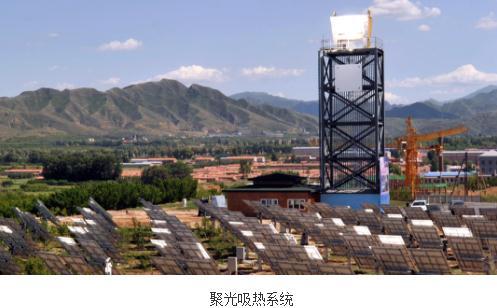 小型集中型太阳能供热示范系统推向示范应用