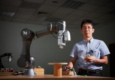 达明机器人参加日本新兴机器人展,主打以内建视觉优势