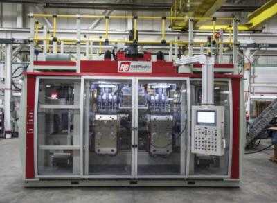 R&B与台湾开普敦公司合作推出全新的全电动吹塑机