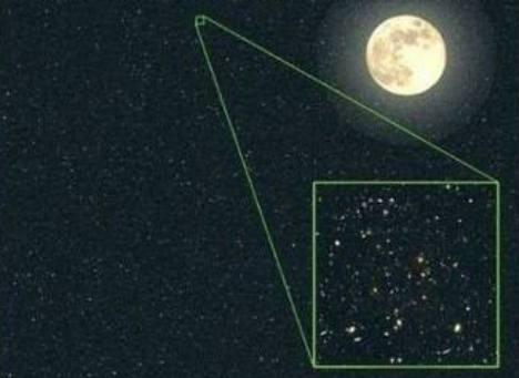 美国哈勃望远镜对着一颗星星观察4个月后,传来不可思议的画面