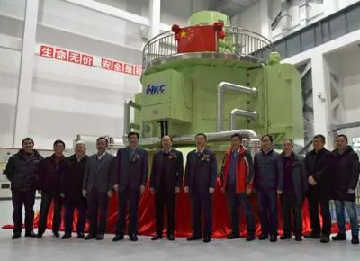我国首台30万千伏安立式脉冲发电机研制成功 放电功率相当于30万千瓦核电站