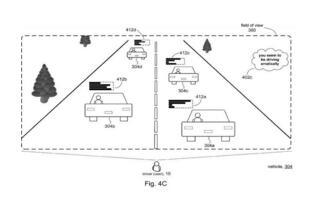 微软最新专利AR驾驶社区可让用户发表评论同伴的驾驶表现