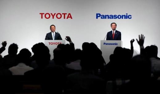丰田联合松下将于2020年成立合资公司 生产车载电池
