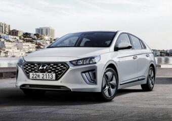 现代欧洲分公司公布2020款全新Ioniq插电式混合动力版车型官方渲染图