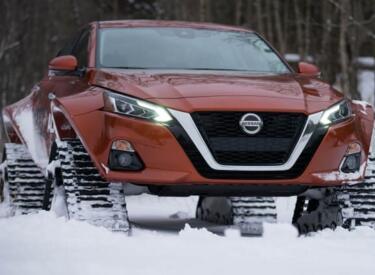 日产雪地用车Altima-te AWD,预计将在今年加拿大车展上亮相