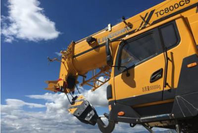 安徽柳工同吨级之最的TC800C6汽车起重机大揭秘