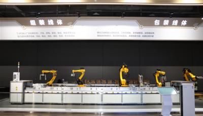 格力电器自动化包装生产线亮相,解放人力降低成本
